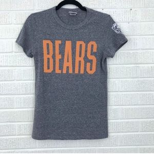 Junk Food Chicago Bears Short Sleeve Game Day Top